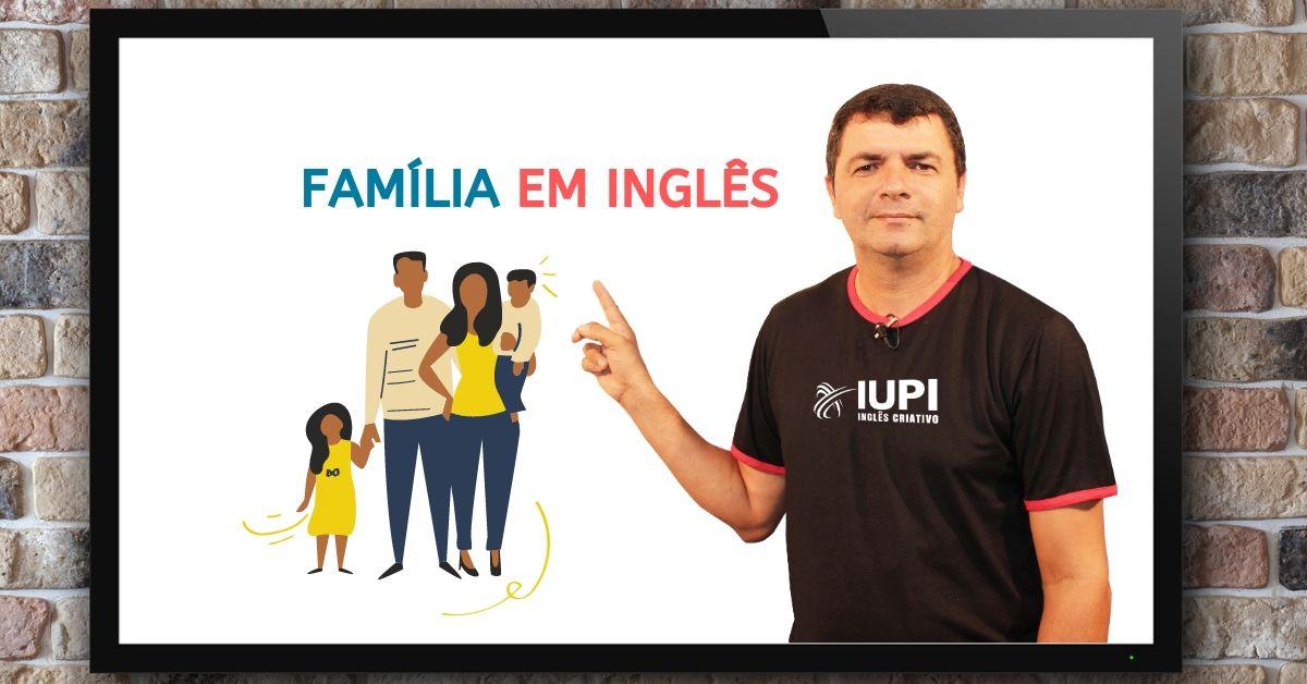 família em inglês